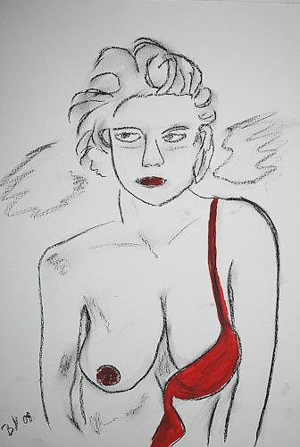 Brigitte Holzinger, ANGEL, Akt/Erotik: Akt Frau, Diverse Erotik, Gegenwartskunst