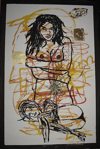 Brigitte Holzinger, LIONIE, Akt/Erotik: Akt Frau, Diverse Erotik, Gegenwartskunst