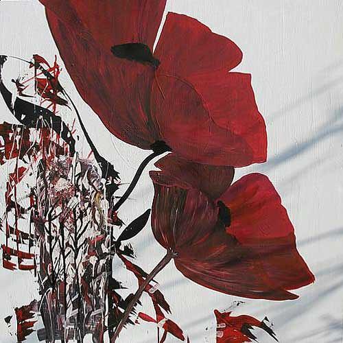 Brigitte Holzinger, FRÜHLINGSDUFT, Pflanzen: Blumen, Fantasie, Gegenwartskunst