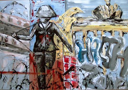 Marion Kerns-Röbbert, Angel of Berlin, Geschichte, Diverse Menschen, Expressionismus, Abstrakter Expressionismus