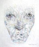 Friedhard-Meyer-Menschen-Gesichter-Diverse-Gefuehle-Gegenwartskunst--Gegenwartskunst-