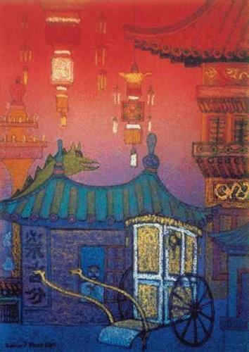 Friedhard Meyer, Kleines Haus in Beijing, Geschichte, Diverse Bauten, Gegenwartskunst