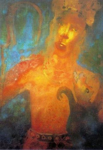 Friedhard Meyer, Shiva und der Dämon Andhaka, Mythologie, Religion, Gegenwartskunst