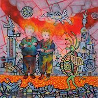 Friedhard-Meyer-Menschen-Kinder-Poesie-Gegenwartskunst-Gegenwartskunst
