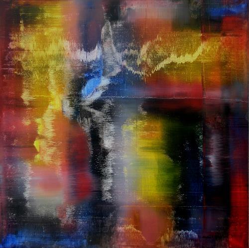 Friedhard Meyer, Golgatha, Abstraktes, Religion, Gegenwartskunst