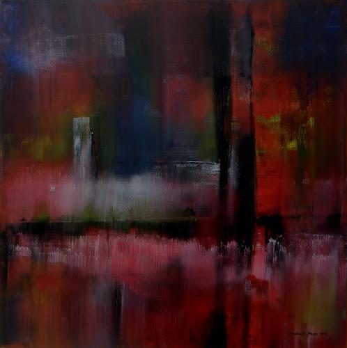Friedhard Meyer, Mehr Licht, Abstraktes, Diverses, Gegenwartskunst, Expressionismus