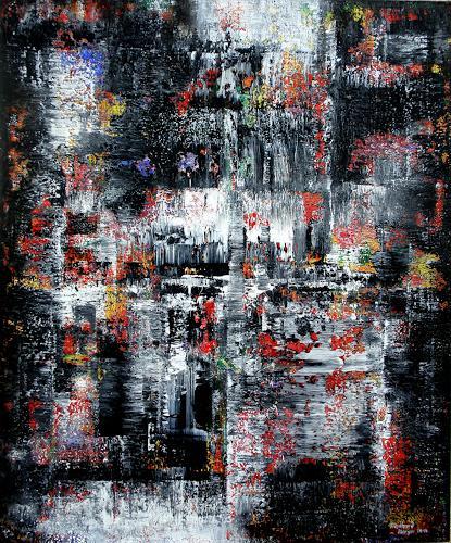 Friedhard Meyer, Black Power, Abstraktes, Natur: Gestein, Gegenwartskunst