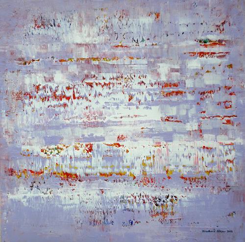 Friedhard Meyer, Lichter Morgen, Abstraktes, Poesie, Gegenwartskunst