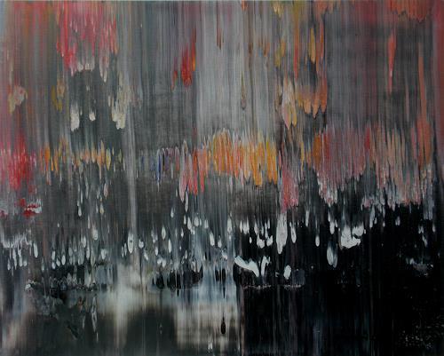 Friedhard Meyer, Verschleiert, Fantasie, Abstraktes, Gegenwartskunst