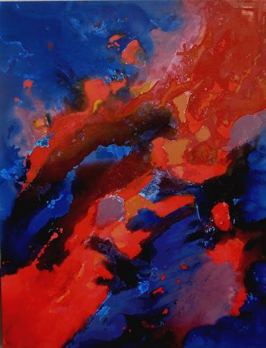 Friedhard Meyer, Wallhall 2, Abstraktes, Dekoratives, Gegenwartskunst