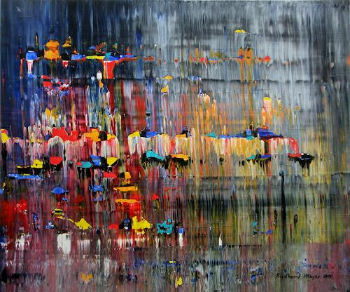 Friedhard Meyer, Fest, Abstraktes, Fantasie, Gegenwartskunst