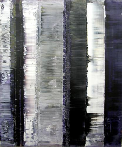 Friedhard Meyer, Dominantes Weiß, Abstraktes, Poesie, Gegenwartskunst