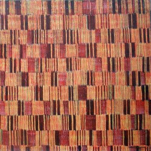 Friedhard Meyer, Farbzone Erdfarben, Abstraktes, Dekoratives, Gegenwartskunst