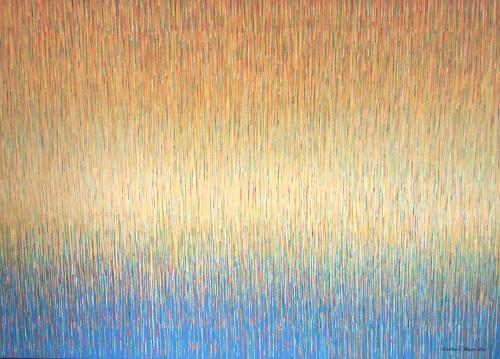 Friedhard Meyer, Stille 1, Abstraktes, Dekoratives, Gegenwartskunst