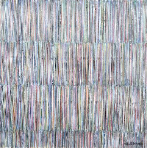 Friedhard Meyer, Farbzone Zurückhaltend, Abstraktes, Dekoratives, Gegenwartskunst