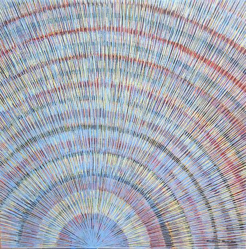 Friedhard Meyer, Fächer, Abstraktes, Fantasie, Gegenwartskunst
