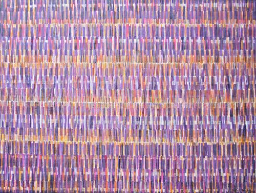 Friedhard Meyer, Farbkörper 1, Dekoratives, Abstraktes, Gegenwartskunst