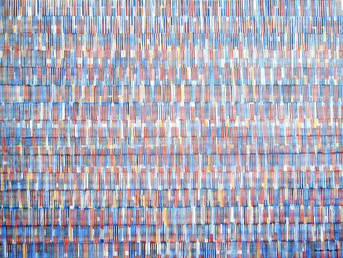 Friedhard Meyer, Farbkörper 2, Abstraktes, Dekoratives, Gegenwartskunst