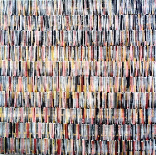 Friedhard Meyer, Farbklänge 1, Abstraktes, Dekoratives, Gegenwartskunst, Expressionismus