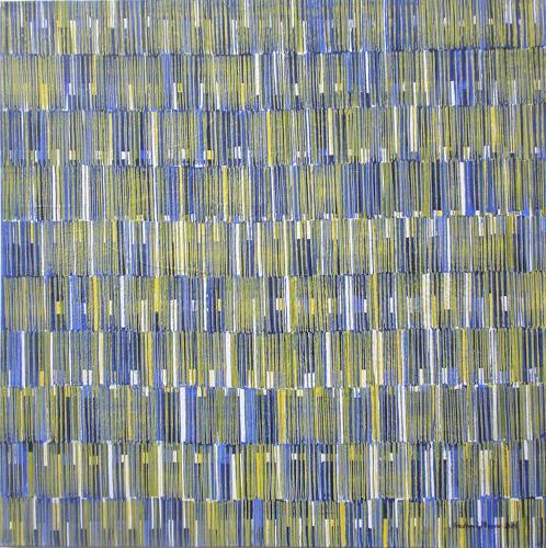 Friedhard Meyer, Farbklänge 2, Abstraktes, Dekoratives, Gegenwartskunst