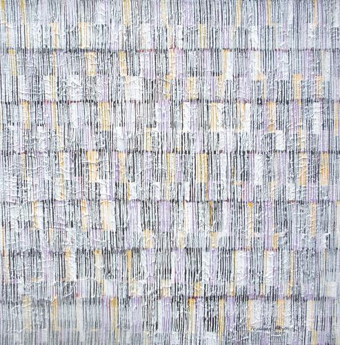 Friedhard Meyer, Farbkänge 8, Abstraktes, Dekoratives, Gegenwartskunst