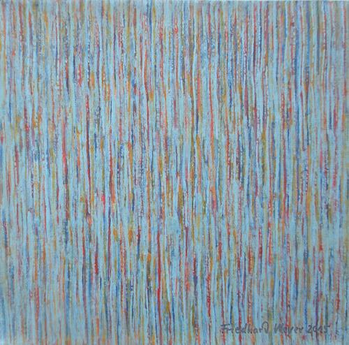 Friedhard Meyer, Miniatur 4, Abstraktes, Dekoratives, Gegenwartskunst