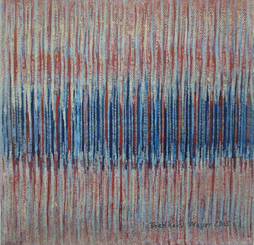 Friedhard Meyer, Miniatur 7, Dekoratives, Abstraktes, Gegenwartskunst