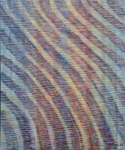 Friedhard Meyer, Diagonal 2, Abstraktes, Fantasie, Gegenwartskunst