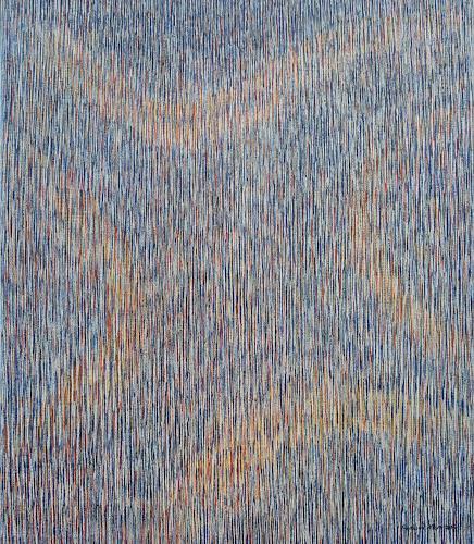 Friedhard Meyer, Spuren, Abstraktes, Dekoratives, Gegenwartskunst