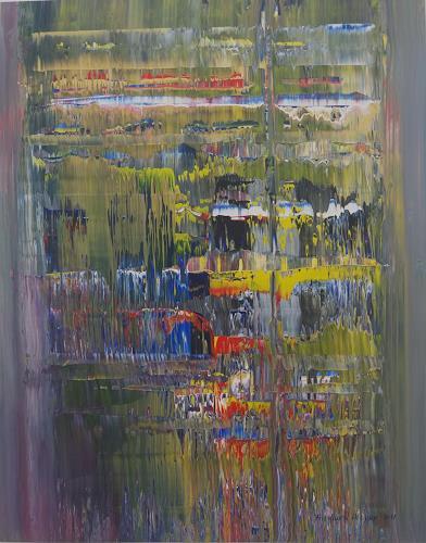 Friedhard Meyer, Farbenreich, Abstraktes, Fantasie, Gegenwartskunst