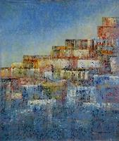 Friedhard-Meyer-Abstraktes-Diverse-Bauten-Gegenwartskunst-Gegenwartskunst