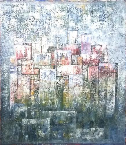 Friedhard Meyer, Premana, Diverse Bauten, Fantasie, Gegenwartskunst, Expressionismus
