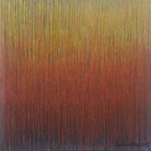Friedhard Meyer, Miniatur 20, Abstraktes, Fantasie, Konkrete Kunst
