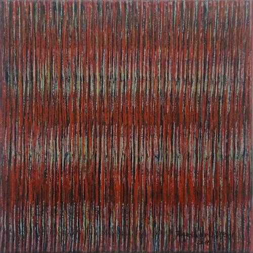 Friedhard Meyer, Miniatur 14, Abstraktes, Fantasie, Konkrete Kunst