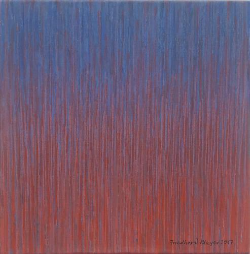 Friedhard Meyer, Miniatur 19, Abstraktes, Fantasie, Konkrete Kunst