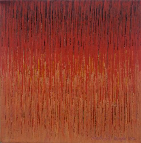 Friedhard Meyer, Miniatur 9, Abstraktes, Fantasie, Konkrete Kunst