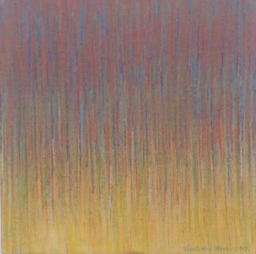Friedhard Meyer, Miniatur 10, Abstraktes, Fantasie, Konkrete Kunst