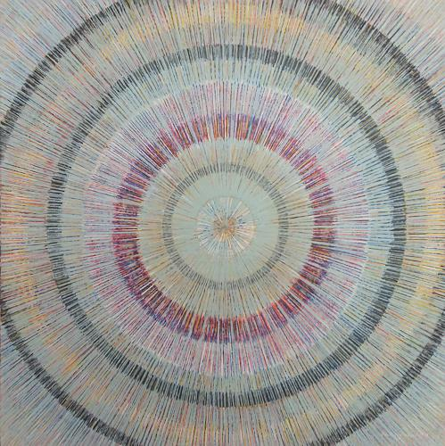 Friedhard Meyer, Meditation 8, Dekoratives, Fantasie, Gegenwartskunst