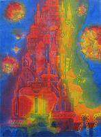 Friedhard-Meyer-Fantasie-Diverse-Bauten-Gegenwartskunst-Gegenwartskunst