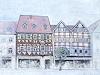 Friedhard Meyer, Fachwerkhäuser am Markt