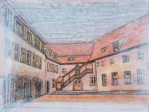 Friedhard Meyer, Bildhäuser Hof, Diverse Bauten, Architektur, Gegenwartskunst