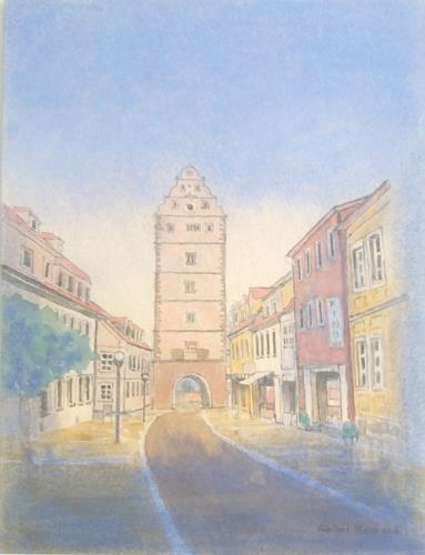 Friedhard Meyer, Hohnstraße, Diverse Bauten, Architektur, Gegenwartskunst