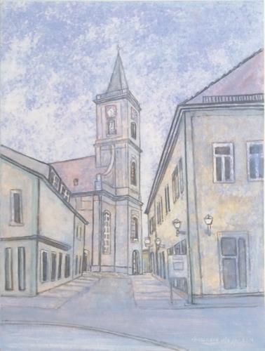 Friedhard Meyer, Stadtpfarrkirche, Diverse Bauten, Architektur, Gegenwartskunst