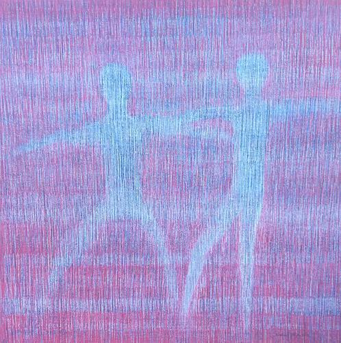 Friedhard Meyer, Tanz, Menschen: Paare, Bewegung, Gegenwartskunst