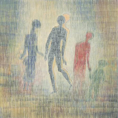 Friedhard Meyer, Doppelgänger, Menschen: Gruppe, Bewegung, Gegenwartskunst