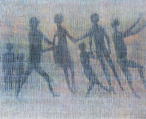 Friedhard Meyer, Ränkespiel, Menschen: Gruppe, Fantasie, Gegenwartskunst