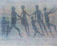 Friedhard-Meyer-Menschen-Gruppe-Fantasie-Gegenwartskunst-Gegenwartskunst