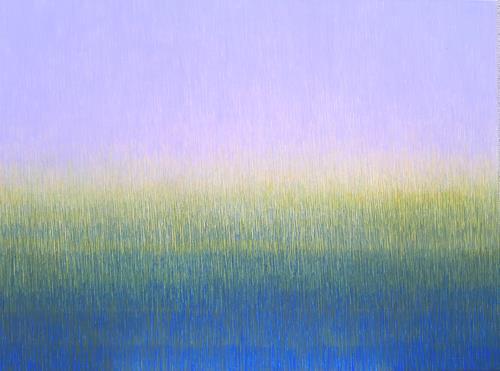 Friedhard Meyer, Lila is Back, Abstraktes, Fantasie, Gegenwartskunst