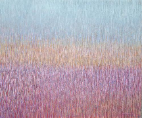Friedhard Meyer, Ganz Leise, Abstraktes, Fantasie, Gegenwartskunst