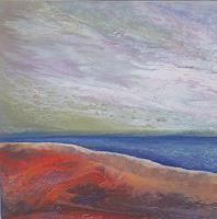 Friedhard-Meyer-Landschaft-See-Meer-Fantasie-Gegenwartskunst-Gegenwartskunst